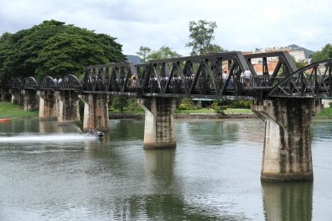 Bridge over the river Kwai - Source: Flickr, Brian Fagan