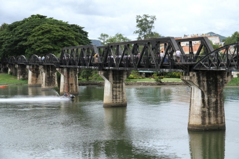 Bridge over the river Kwai - Source: Flickr, Brian Fagan