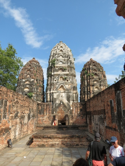 Khmer style temples in Sukhothai. Flickr, Doug Knuth