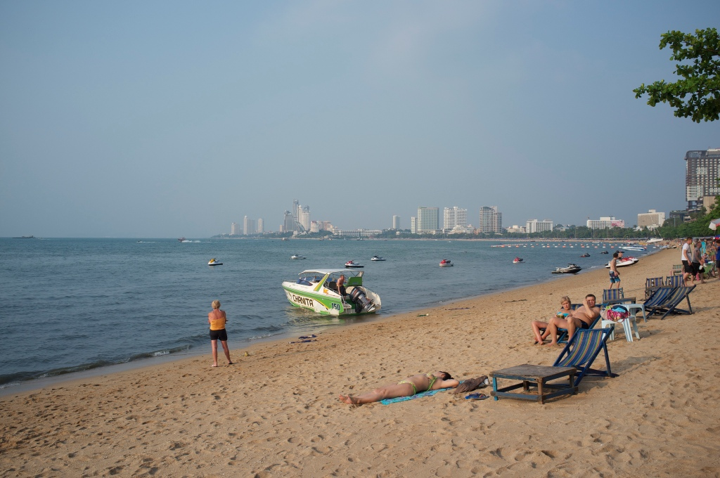Pattaya beach. Source: Flickr, Aleksandr Zykov