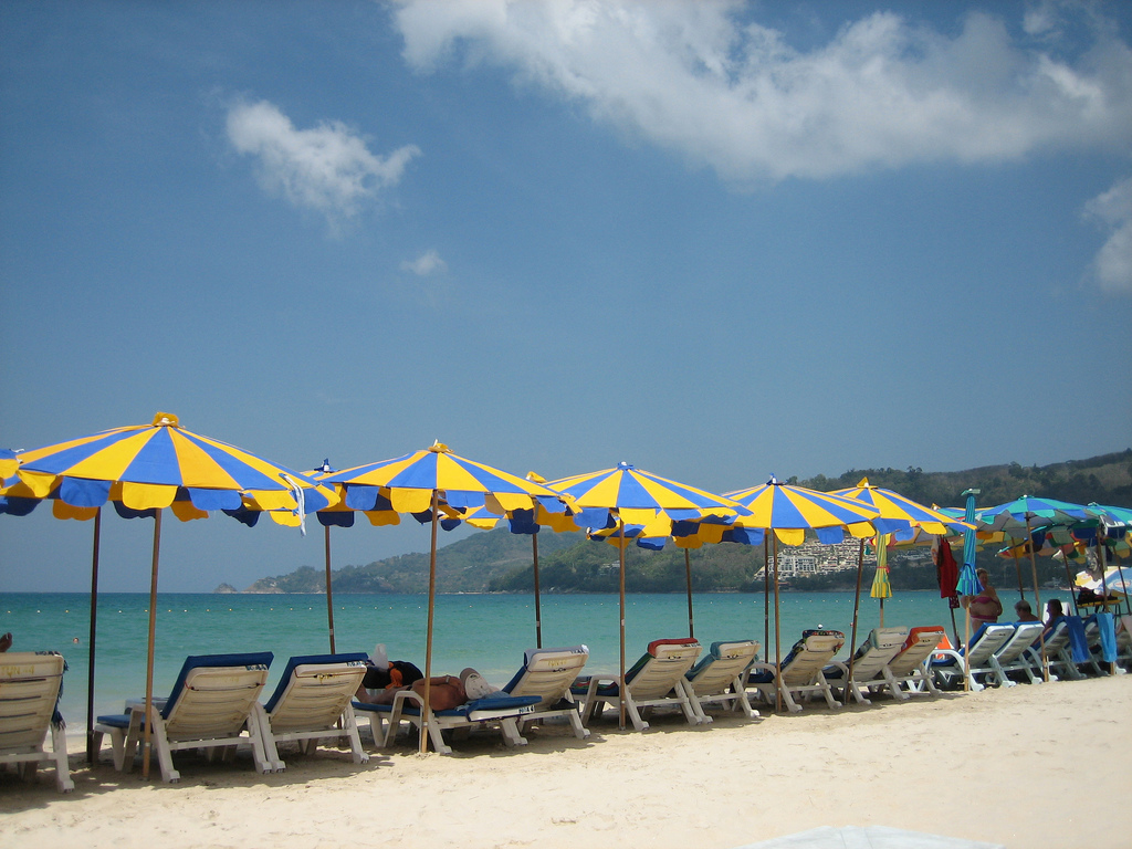 Traces off mass tourism at Patong beach, Phuket. Source: Flickr, Ching Teoh