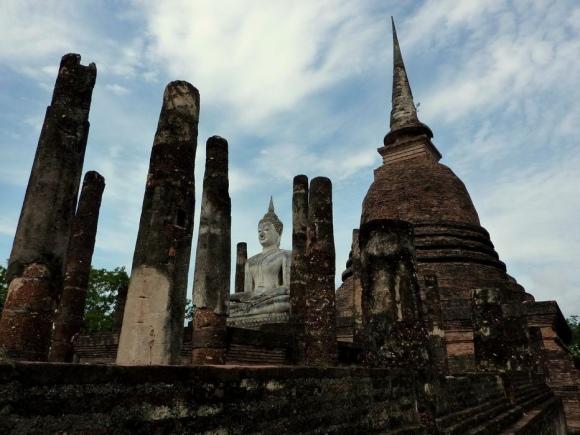 Parc historique de Sukhothai - Wat Sa Si