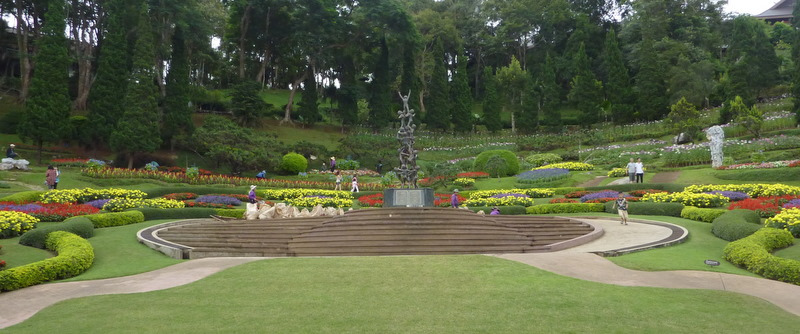 Mae Fah Luang Garden, Doi Tung, Thailand. Flickr, Ronan Crowley