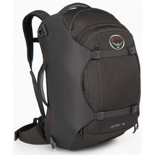 The Osprey Porter. Source: expertworldtravel.com/osprey-porter-vs-farpoint-backpack-travel