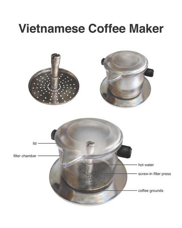 Vietnamese coffee maker
