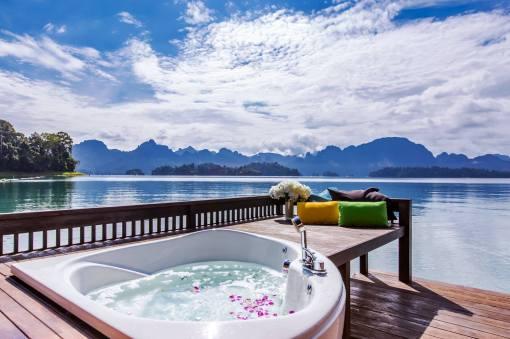 Jaccuzi @500rai floating resort