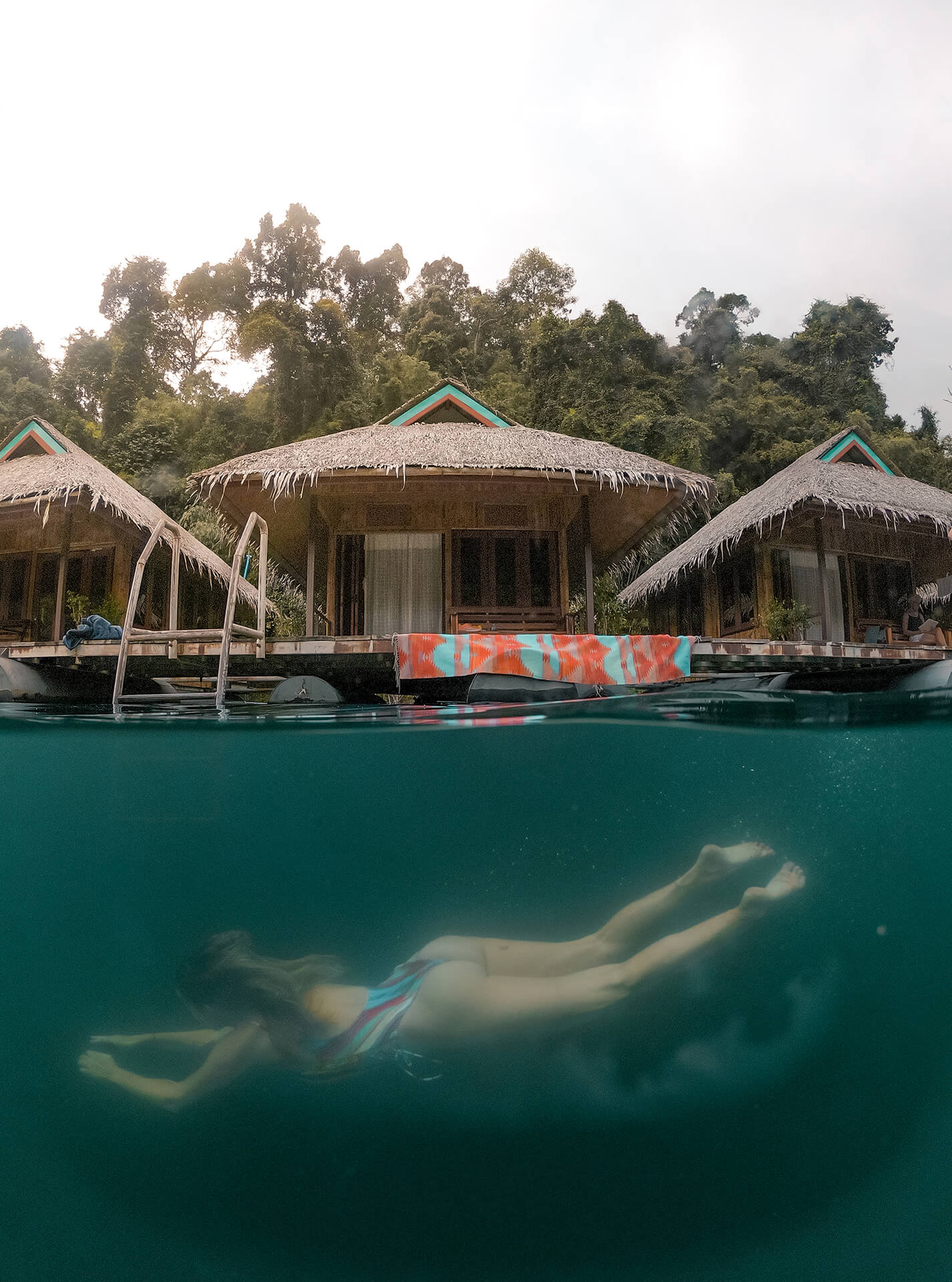 List With Floating Raft House Resorts In Khao Sok National
