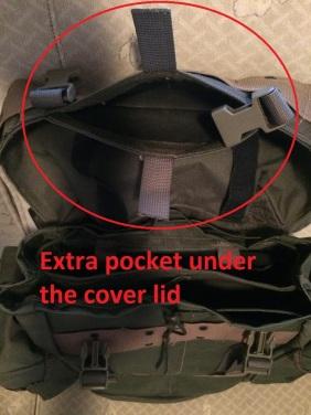 KLU rugzak 04 extra pocket