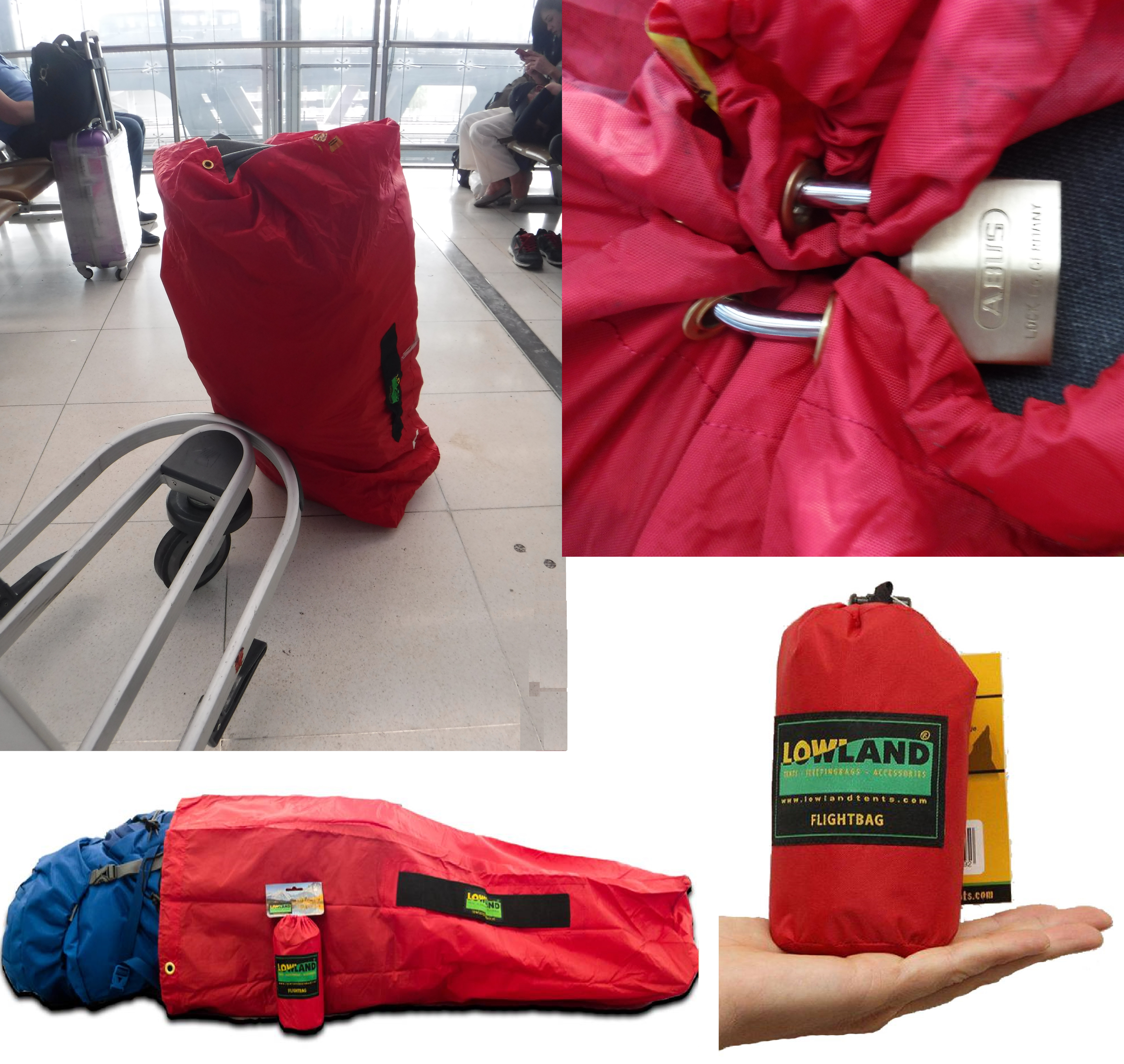 Lowland Outdoor Flightbag compilation