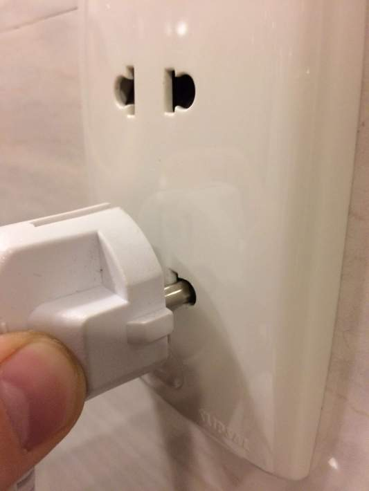 A European standard plug with grounding will work fine. However keep in mind that the ground pin is not connected !