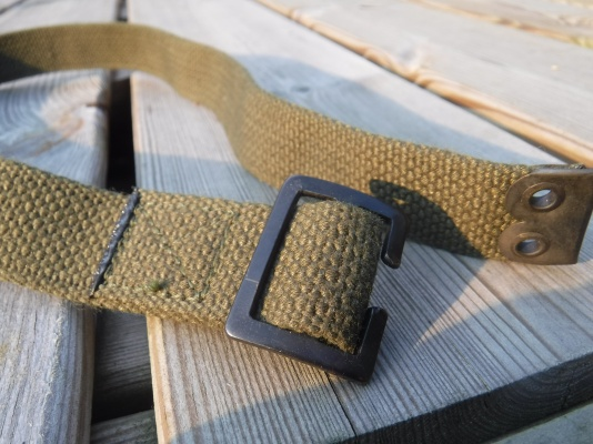 British webbing buckle