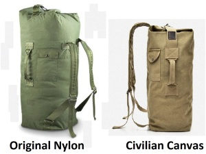 US army (style) duffle bag