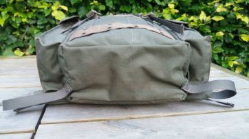 Dutch Airforce daypack bottom
