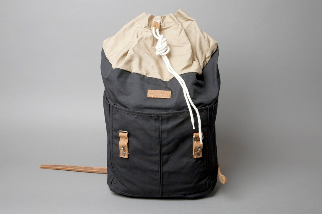 Fjallraven Rucksack no.21 Drawstring closure