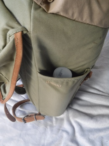 Fjallraven Rucksack no.21 Side pocket