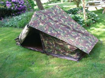 Dutch Army pup tent 01