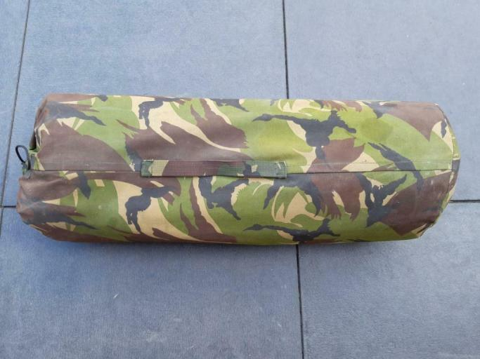 Dutch Army pup tent 02