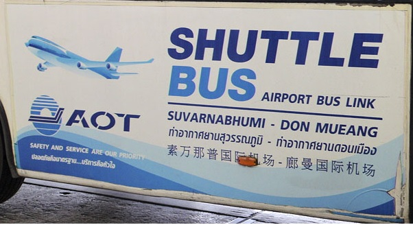 Shuttle bus Suvarnabhumi - Don Mueang