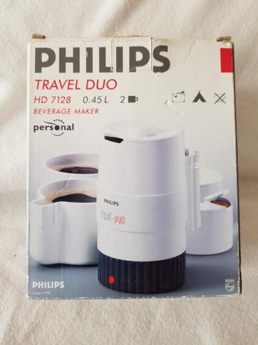 Philips Travel Duo coffee maker in box 01