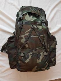 Italian Army Alpine Woodland Camo Backpack 01
