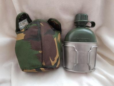 Dutch Army Canteen cup + water bottle 02.