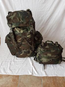 Italian Army Woodland Camo Backpack 01