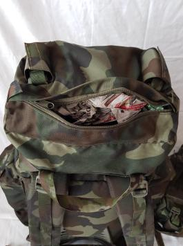 Italian Army Woodland Camo Backpack 03