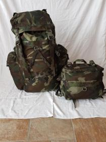 Italian Army Woodland Camo Backpack 04