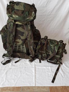 Italian Army Woodland Camo Backpack 05