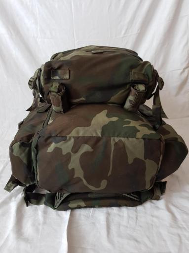 Italian Army Woodland Camo Backpack 07