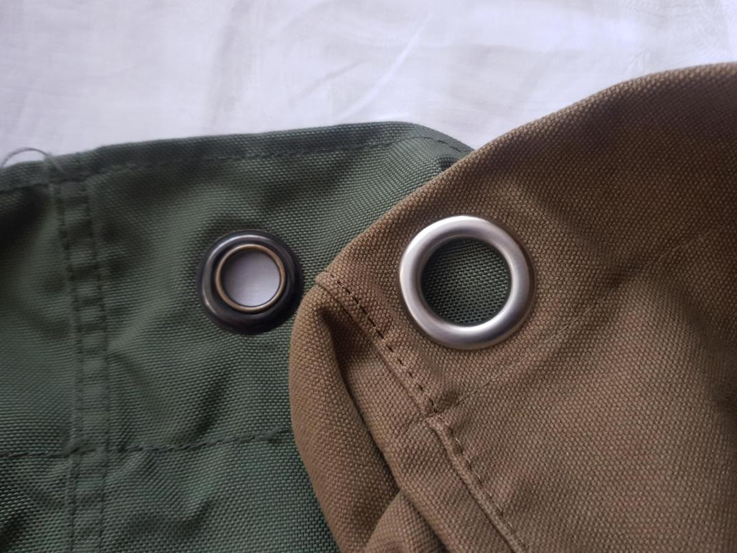 Grommets with different inside diameter